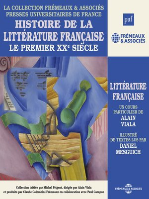 cover image of Histoire de la littérature française (Volume 7)--Le premier XXe siècle
