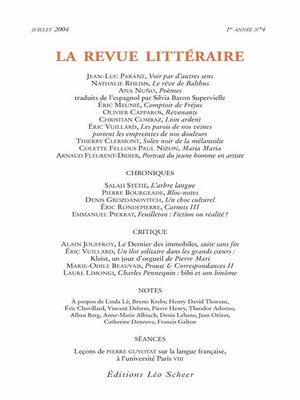 cover image of La Revue Littéraire N°4