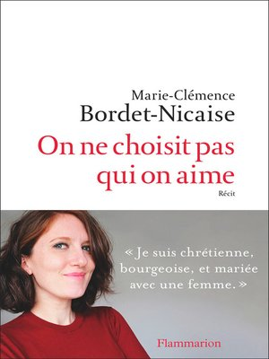 cover image of On ne choisit pas qui on aime