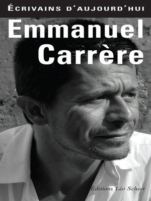 cover image of Emmanuel Carrère
