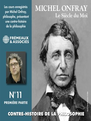 cover image of Contre-histoire de la philosophie (Volume 11.1)--Le siècle du Moi I