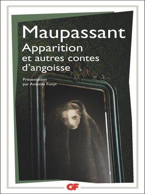 cover image of Apparition et autres contes d'angoisse