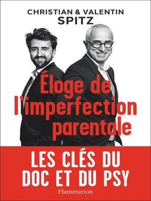 cover image of Éloge de l'imperfection parentale