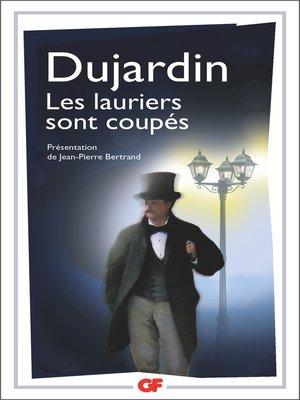 cover image of Les lauriers sont coupés