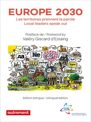 cover image of Europe 2030. Les territoires prennent la parole / Local leaders speak out