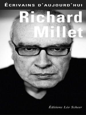 cover image of Richard Millet