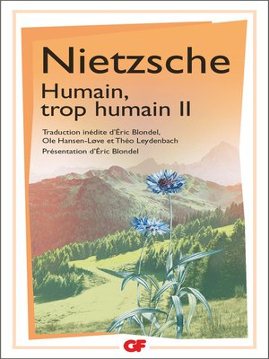 cover image of Humain, trop humain, Tome 2