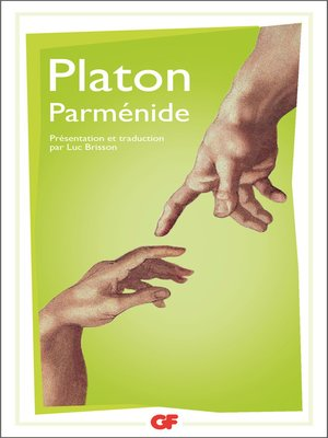 cover image of Parménide