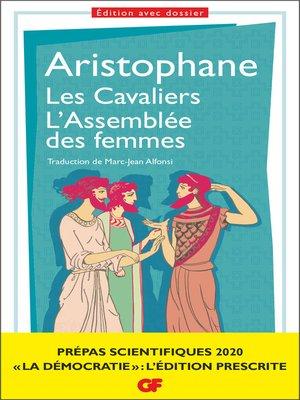 cover image of Les Cavaliers – L'Assemblée des femmes