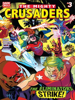cover image of The Mighty Crusaders, Issue 3