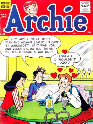 cover image of Archie (1960), Issue 91