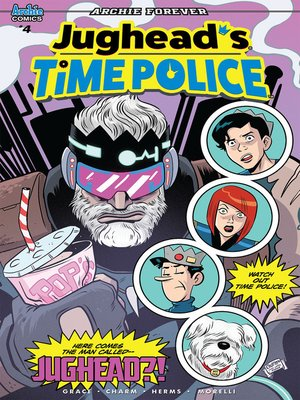 cover image of Jughead's Time Police (2019), Issue 4