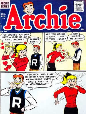 cover image of Archie (1960), Issue 90