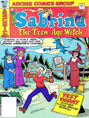cover image of Sabrina the Teenage Witch (1971), Issue 71
