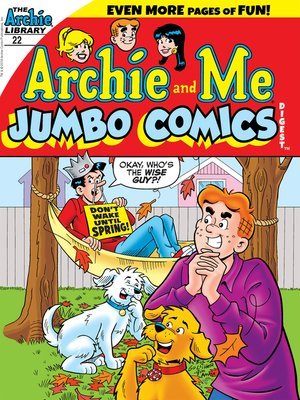 cover image of Archie & Me Comics Digest (2017), Issue 22