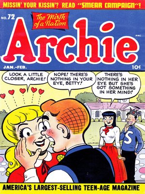 cover image of Archie (1960), Issue 72
