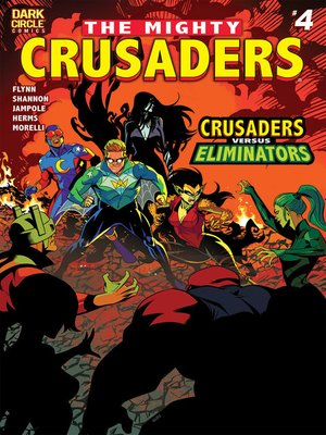 cover image of The Mighty Crusaders, Issue 4