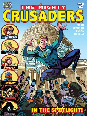 cover image of The Mighty Crusaders, Issue 2