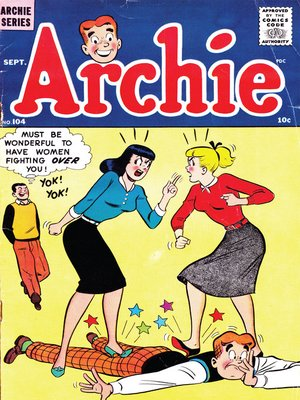 cover image of Archie (1960), Issue 104