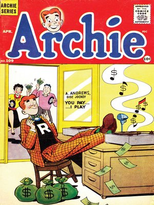 cover image of Archie (1960), Issue 109