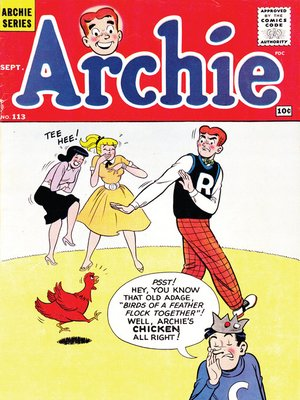 cover image of Archie (1960), Issue 113