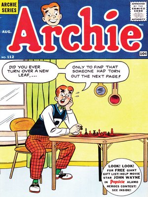 cover image of Archie (1960), Issue 112