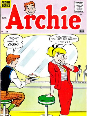 cover image of Archie (1960), Issue 115