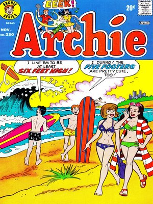 cover image of Archie (1960), Issue 230