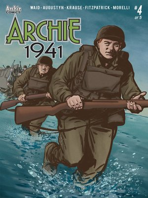 cover image of Archie: 1941 (2018), Issue 4
