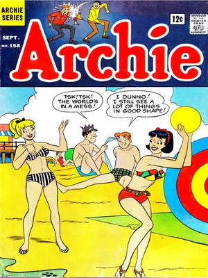 cover image of Archie (1960), Issue 158