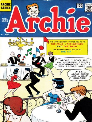 cover image of Archie (1960), Issue 152