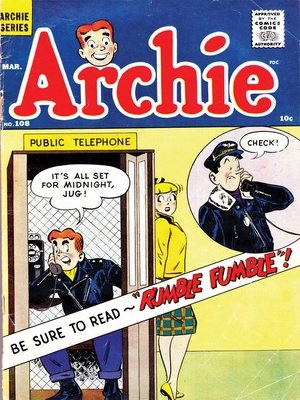 cover image of Archie (1960), Issue 108