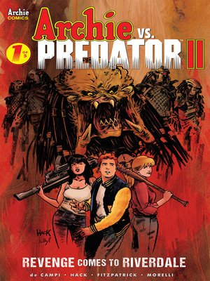 cover image of Archie vs Predator 2 (2019), Issue 1