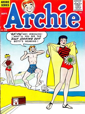 cover image of Archie (1960), Issue 95