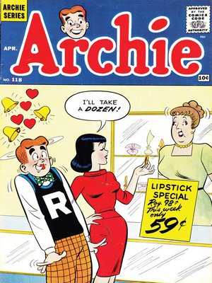 cover image of Archie (1960), Issue 118