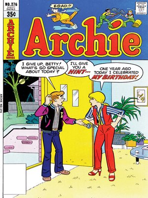 cover image of Archie (1960), Issue 276