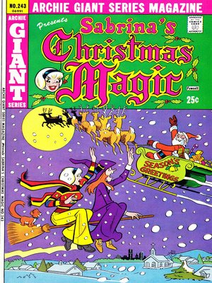 cover image of Sabrina's Christmas Magic (2014), Issue 5