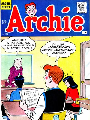 cover image of Archie (1960), Issue 116