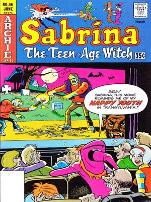 cover image of Sabrina the Teenage Witch (1971), Issue 46
