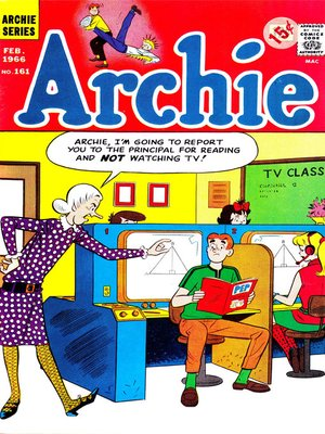 cover image of Archie (1960), Issue 161