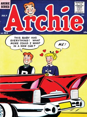 cover image of Archie (1960), Issue 102