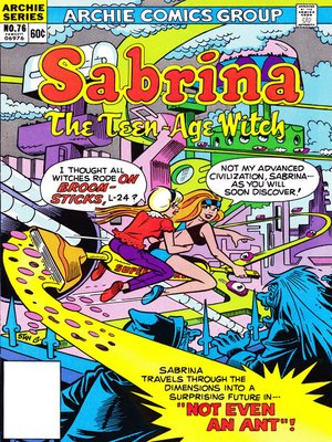 cover image of Sabrina the Teenage Witch (1971), Issue 76
