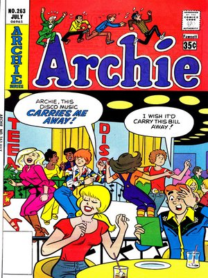cover image of Archie (1960), Issue 263