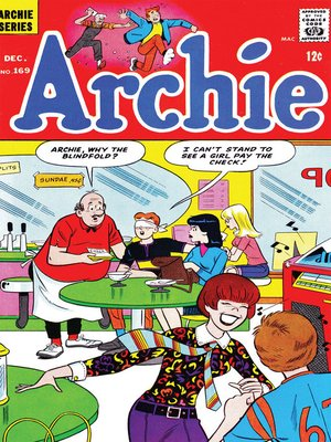 cover image of Archie (1960), Issue 169