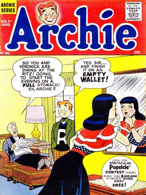 cover image of Archie (1960), Issue 81