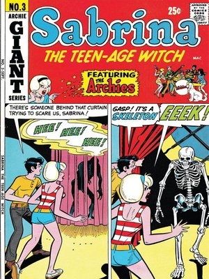 cover image of Sabrina the Teenage Witch (1971), Issue 3