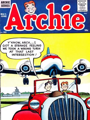 cover image of Archie (1960), Issue 92