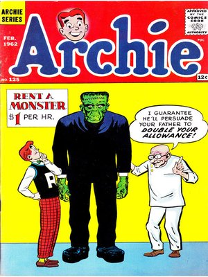 cover image of Archie (1960), Issue 125