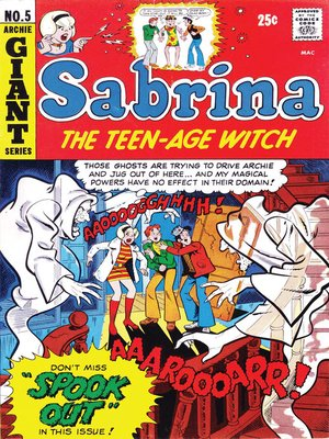 cover image of Sabrina the Teenage Witch (1971), Issue 5