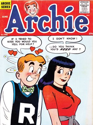 cover image of Archie (1960), Issue 101